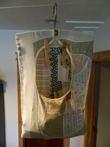 I Love my Grandma's Hanging Clothespin Bag!