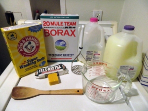 Laundry Soap  Recipe Ingredients