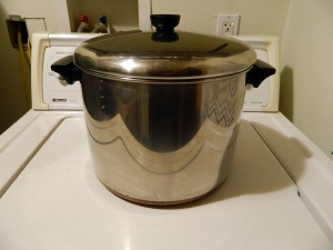 My 10QT Revere Ware Stock Pot.  An Awesomely Versatile Pot