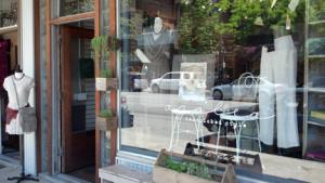 Azalea Store Window No Sign