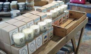 Pauper's Candles features at Azalea in Sandpoint, Idaho