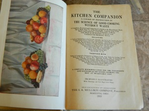 100 years and still cooking... The Kitchen Companion turned 100 this year and its past recipes are great to have before the incredible invasion of artificial sweeteners, chemical preservatives, artificial flavor enhancers, and dyes.