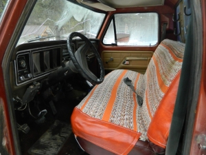 When all else fails... Add a nice used bench seat cover to make sitting in a no start vehicle more comfy.