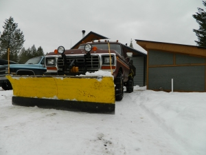 "A haiku ""Ode to Plow Truck""... Silently it sits. Waits for the next storm to hit. Until then it sits."