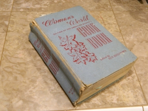 It is a Woman's World... I love this cook book from 1939.