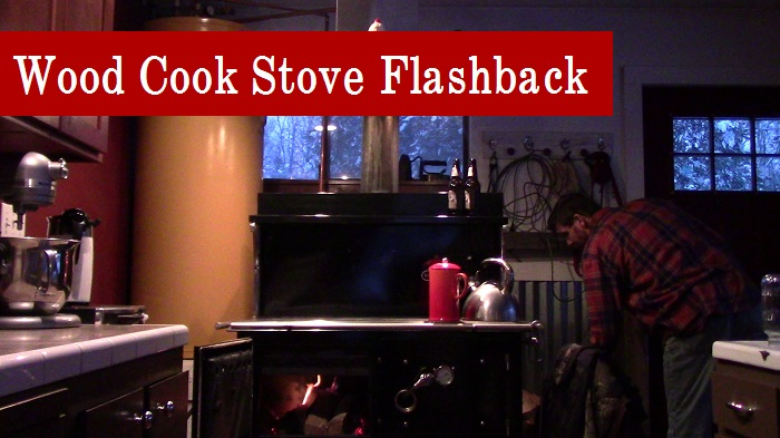 Flashback: Lighting the Wood Stove for the 1st time didn't work out so well.
