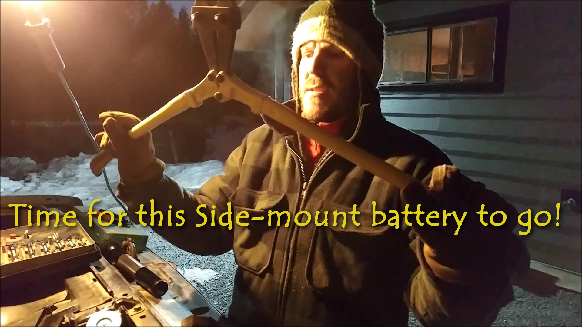 Changing a Side-Mount for a Top Post Battery
