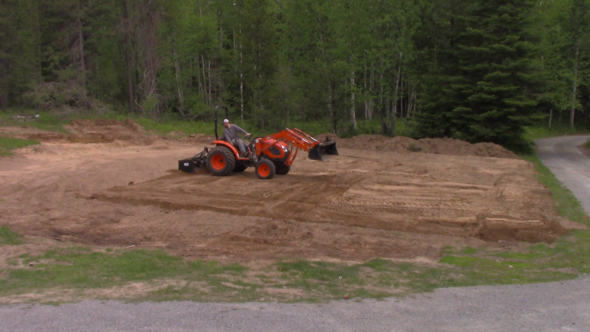 Breaking Ground on the Barn Shop