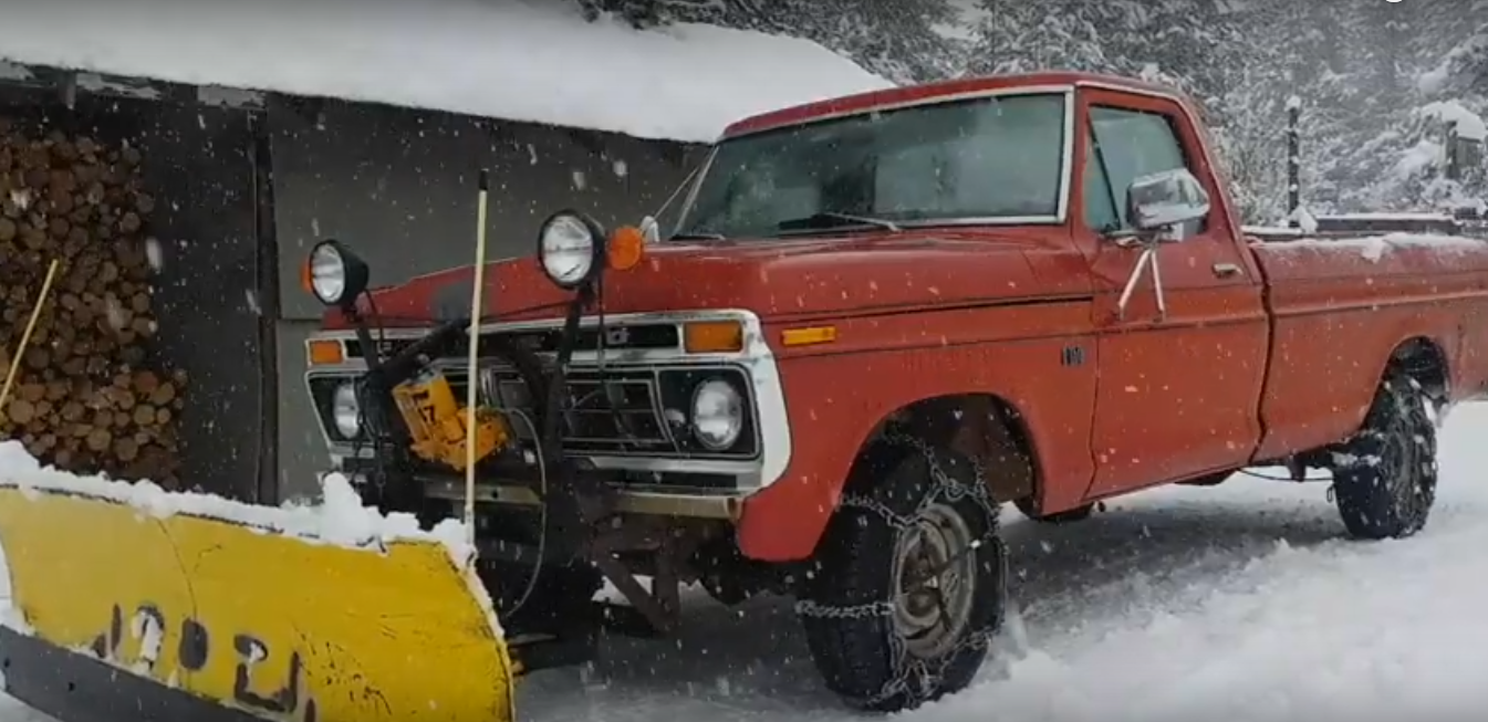 Whether to buy a Snow Plow or Not. (Saving Money when it doesn't feel like it.)