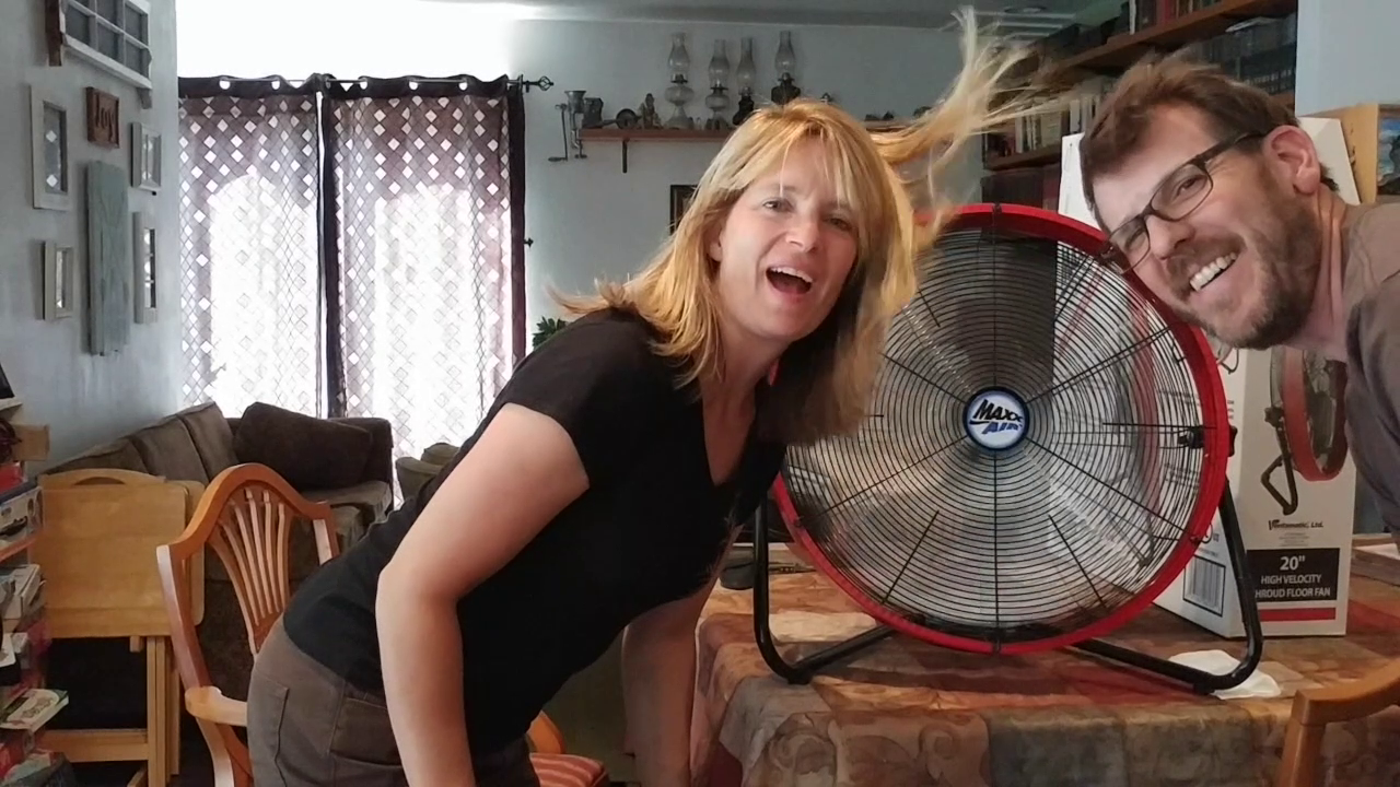 Beat the Heat: Purchase a fan that will last