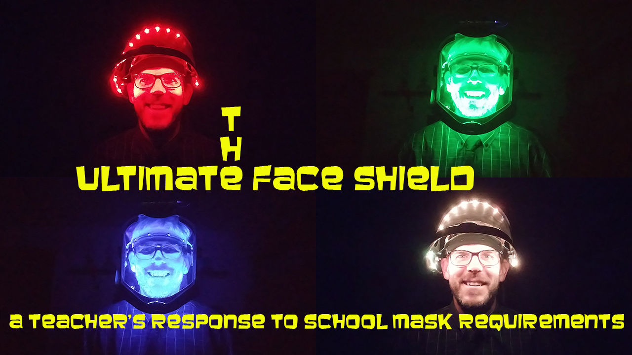The Ultimate Social Distancing Face Shield